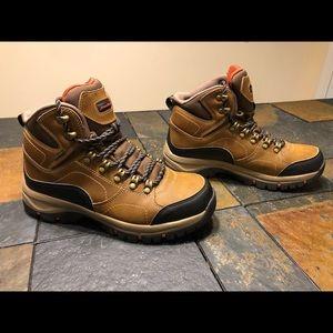 Eddie Bauer leather waterproof boots men's sz 8